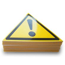 ⚠ Предупреждающие знаки