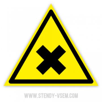 Знак Аллергические раздражающие вещества
