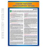 стенд Закон України Про охорону праці