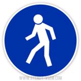Знак Прохід тут