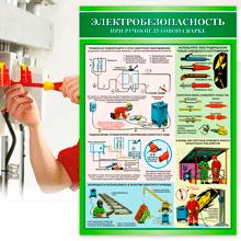 Картинка для категории учебные плакаты по электробезопасности на сайте stendy-vsem.com.