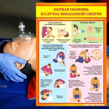 """Категория """"Первая медицинская помощь"""" состоящая из 18 плакатов для учебно - образовательных целей на сайте  stendy-vsem.сом."""