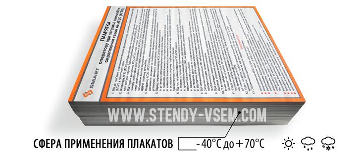 картинка плакатов для оператора газовой заправки
