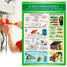 Картинка для категорії навчальні плакати з електробезпеки на сайті stendy-vsem.com